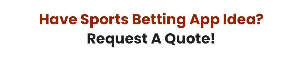 Sports betting app idea