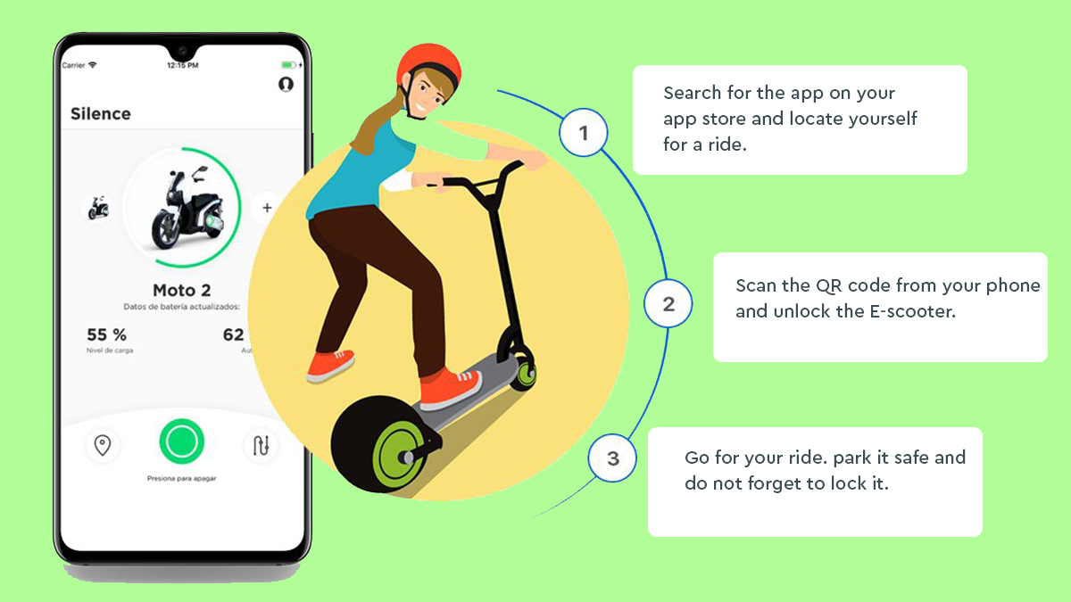 eScooter app development company