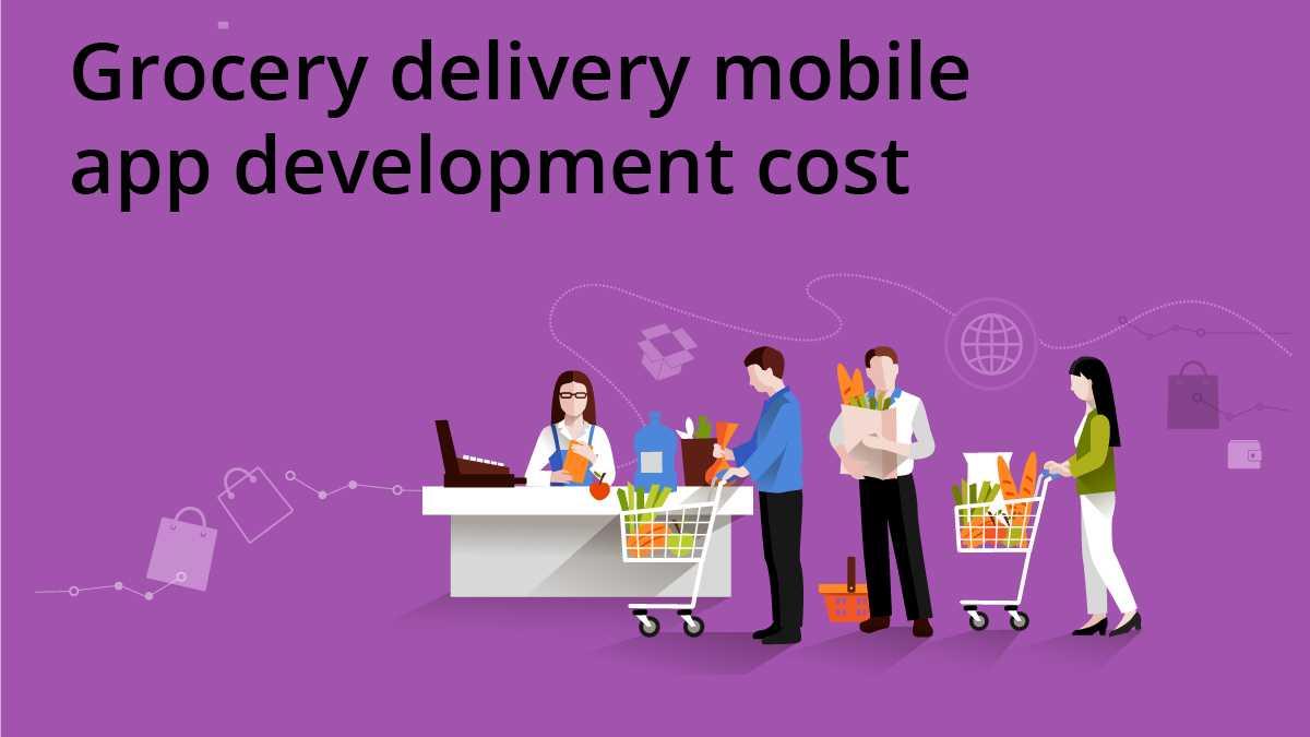 grocery app development cost