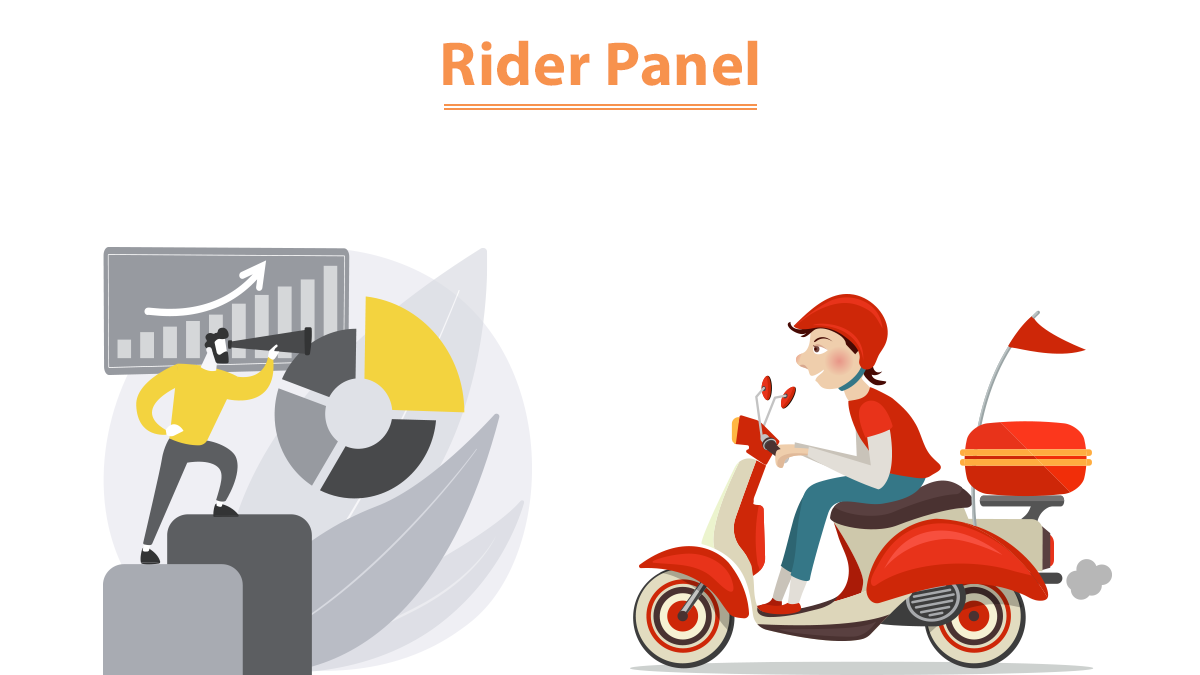 food delivery app- Rider panel