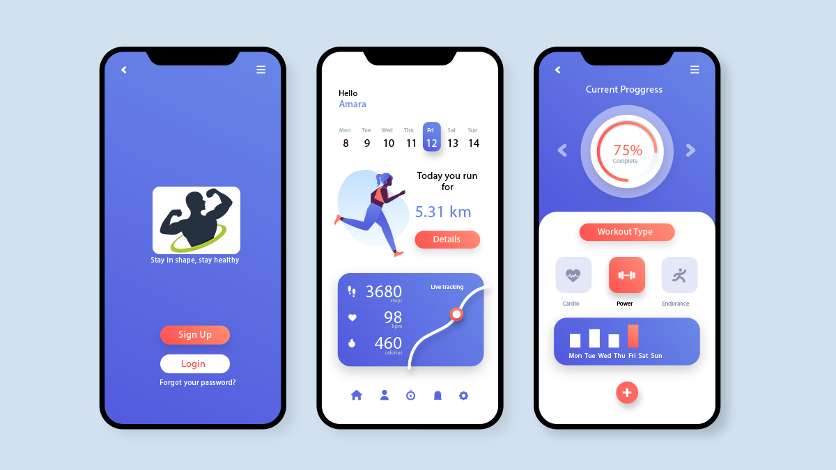 workout streaming app