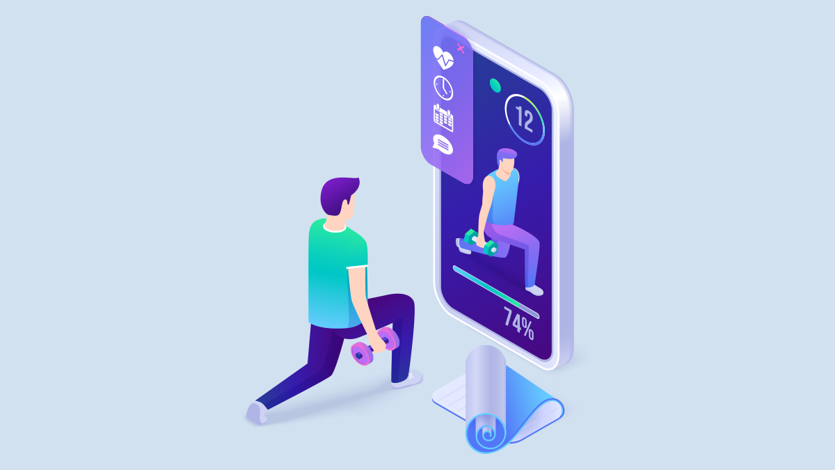 create your own fitness app