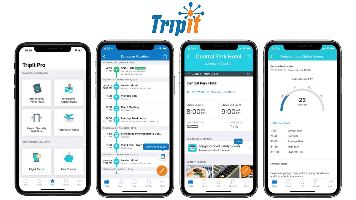 travel organizer app development