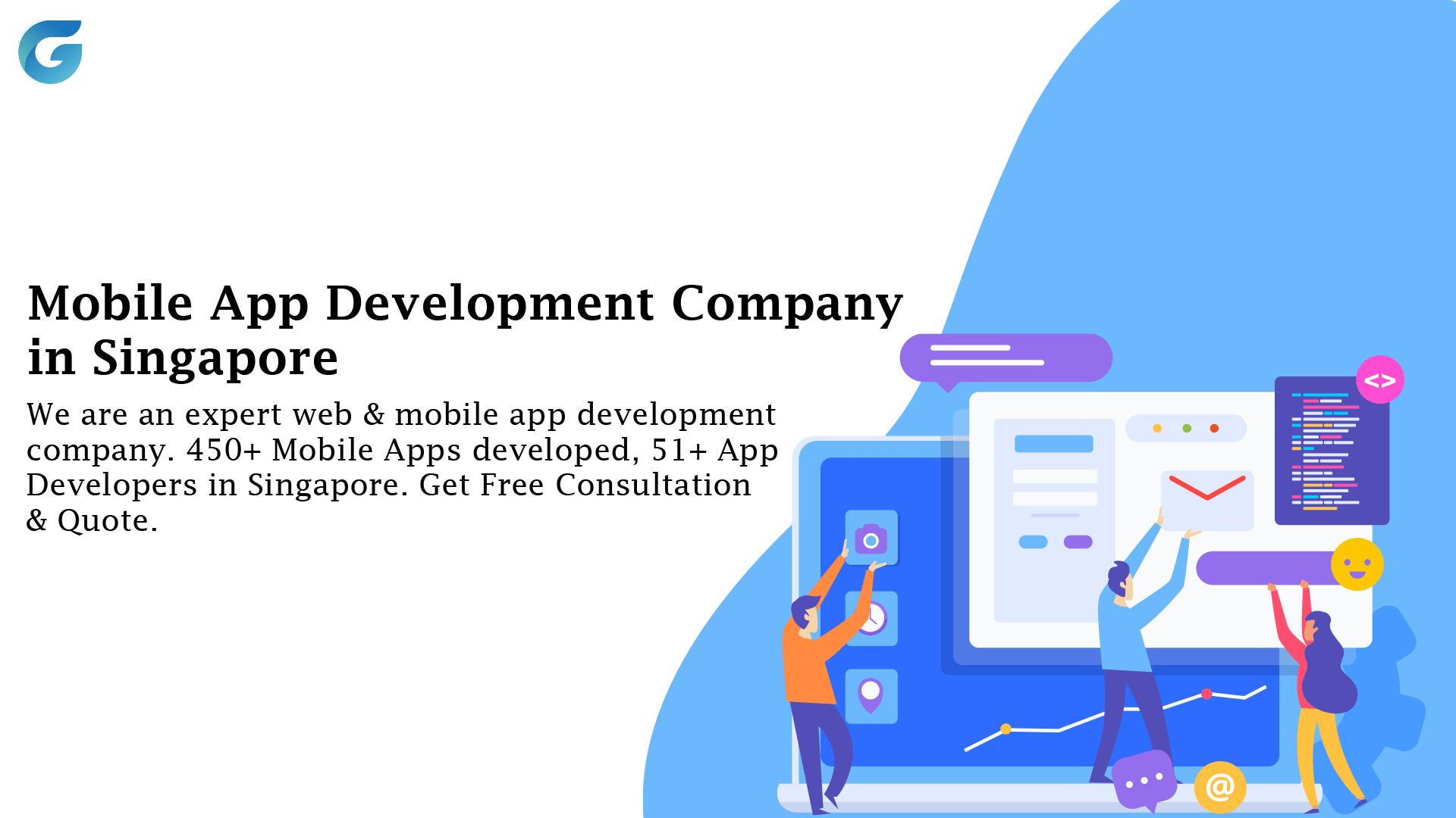 500+ Apps Developed | Mobile App Development Company Singapore