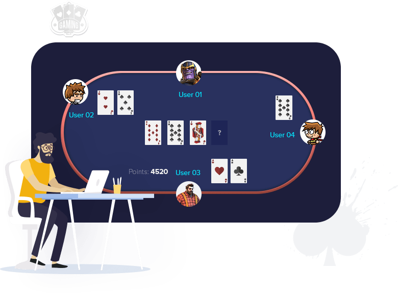 poker game development